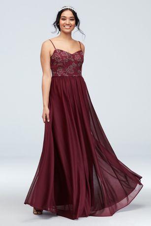c134b4fa3aa Soft   Flowy DB Studio Long Bridesmaid Dress