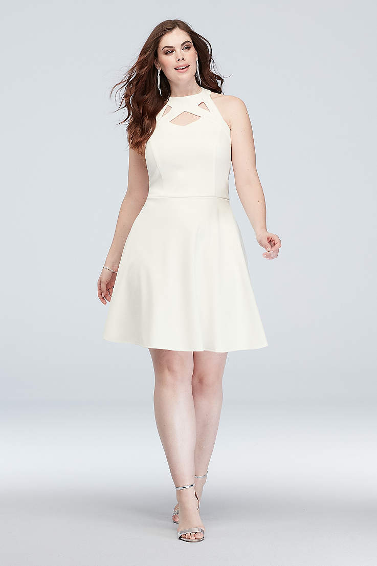 a92299dd1ee Short A-Line Halter Dress - Speechless