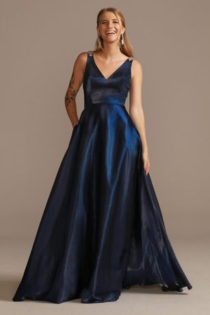 Long Ballgown Tank Dress - Jules and Cleo