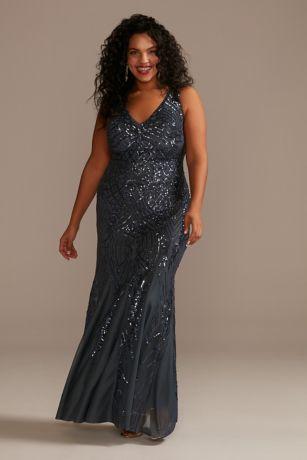 Long Mermaid / Trumpet Tank Dress - Galina Signature