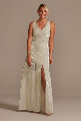 Long A-Line Tank Dress - David's Bridal