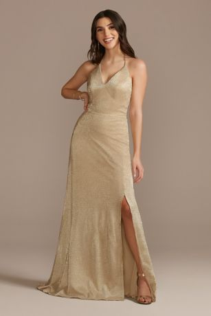 Long Sheath Halter Dress - DB Studio