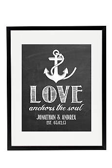 Personalized Anchor Wedding Sign