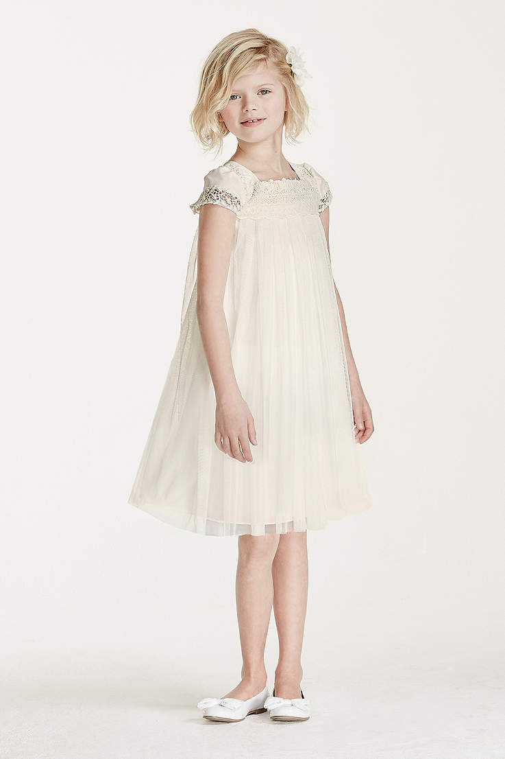 Short Sheath Cap Sleeves Dress David S Bridal