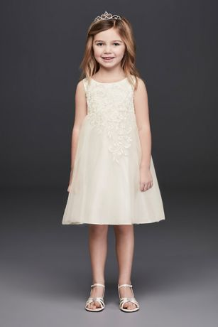 Short A-Line Tank Dress - David's Bridal