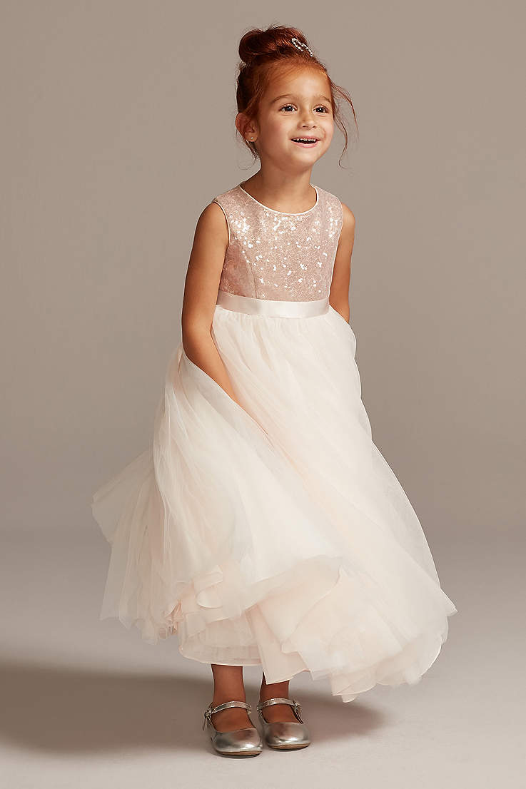 Flower Girl Dresses   Every Color & Adorable Style   David's Bridal