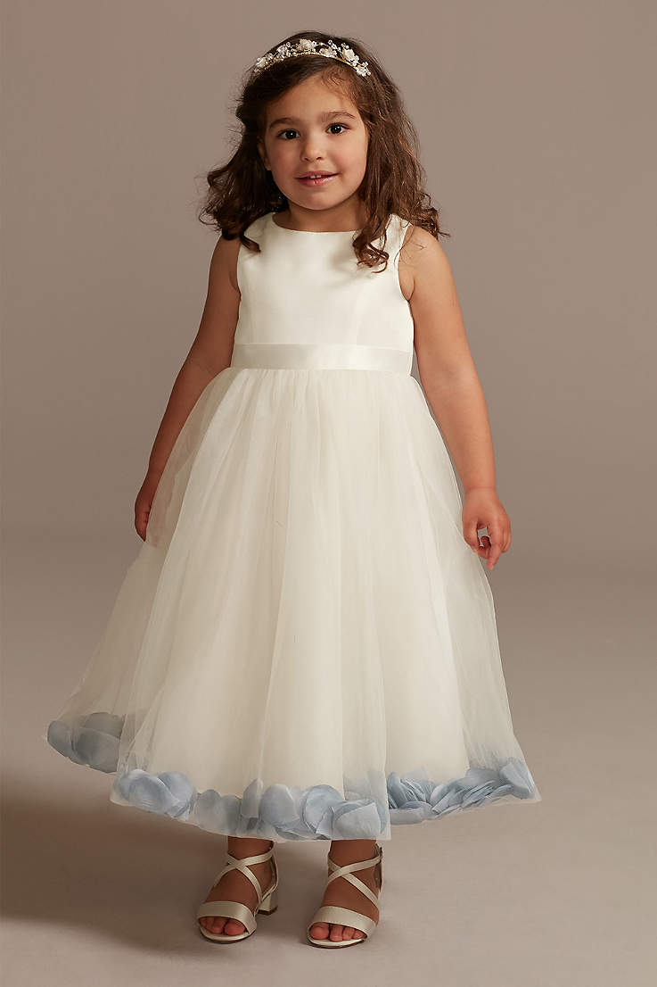 Kid /& Baby Floral Girl Bow Princess Dress for Girl Party Wedding Bridesmaid Gown