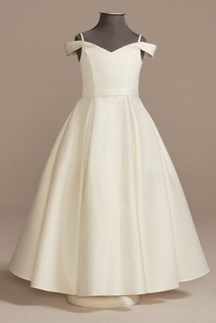 Long Ballgown Off the Shoulder Dress - DB Studio