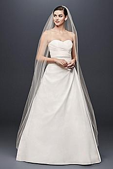 Taffeta A-Line Wedding Dress with Sweetheart Neck WG3243