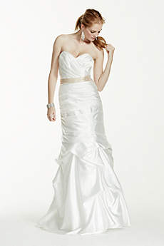 Sweetheart Gown with Pick-Up Skirt