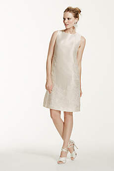 Short A-Line Vintage Wedding Dress - Galina