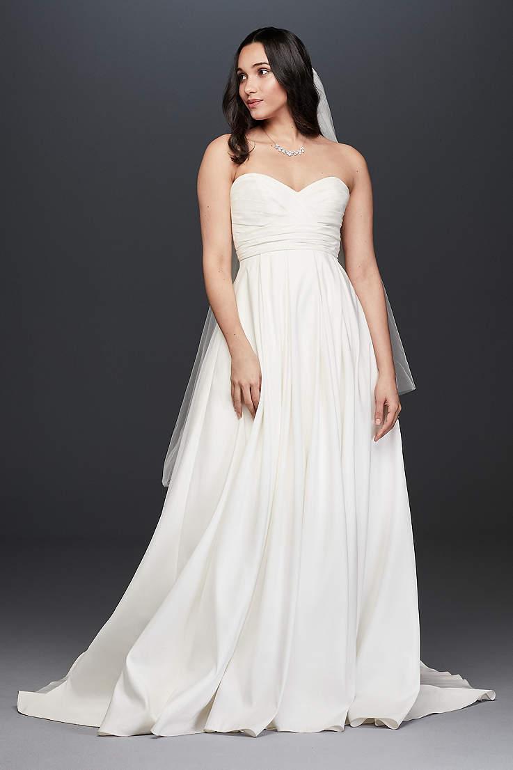 f6ff1383f2 Long Ballgown Wedding Dress - David's Bridal Collection