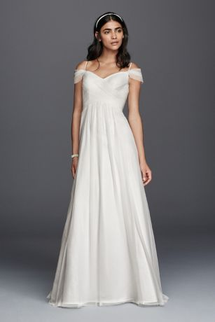 Long A-Line Wedding Dress - Galina