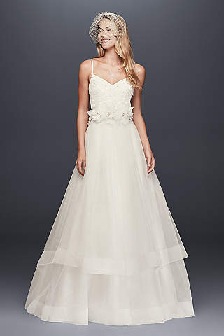 Long Ballgown Country Wedding Dress Galina