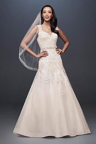 Latest wedding dresses 2018 new arrivals davids bridal long mermaid trumpet formal wedding dress davids bridal collection junglespirit Image collections