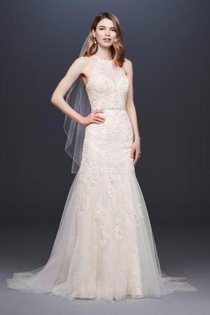 Long Mermaid/ Trumpet Wedding Dress - David's Bridal