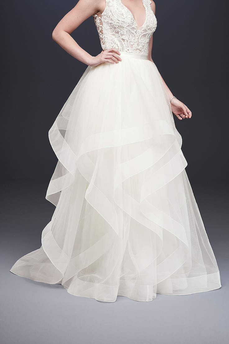 Long Separates Wedding Dress David S Bridal Collection