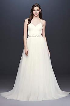 Long Separates Dress Alternatives Wedding Dress - David's Bridal Collection