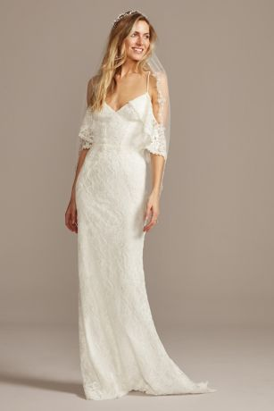 Long Mermaid/Trumpet Wedding Dress - Galina