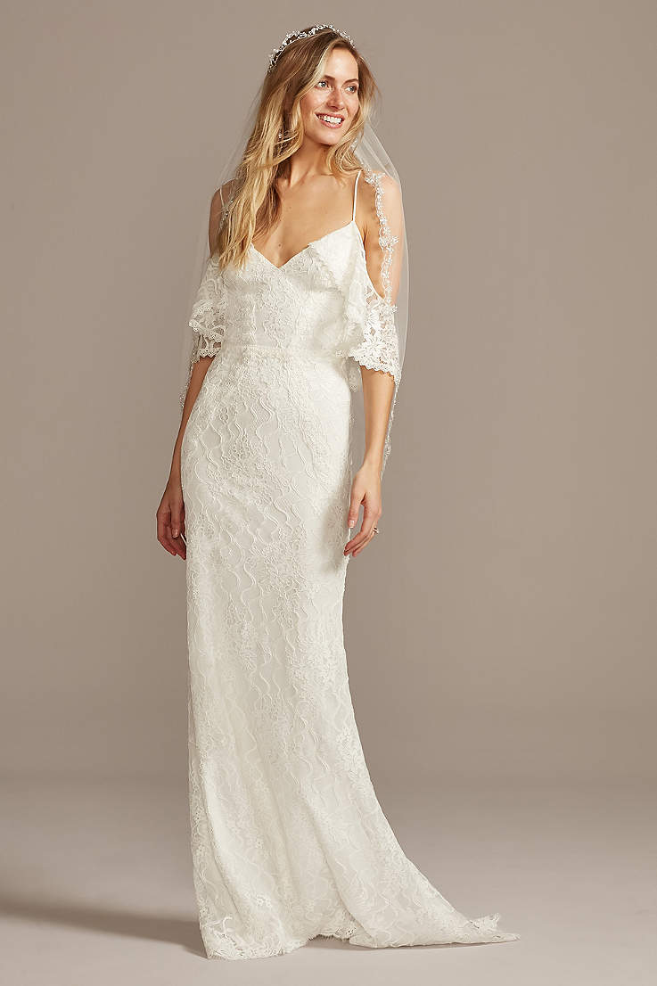 Boho Wedding Dresses Bohemian Bridal Gowns David S Bridal