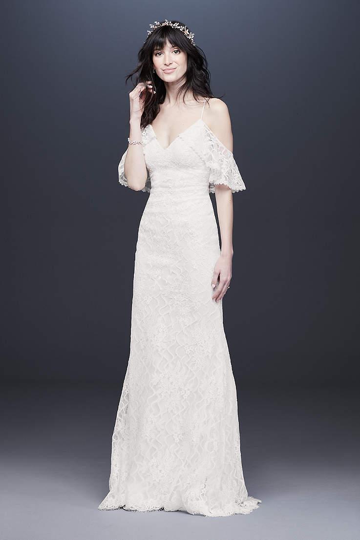 Bohemian Wedding Dresses & Boho Bridal Gowns   David\'s Bridal