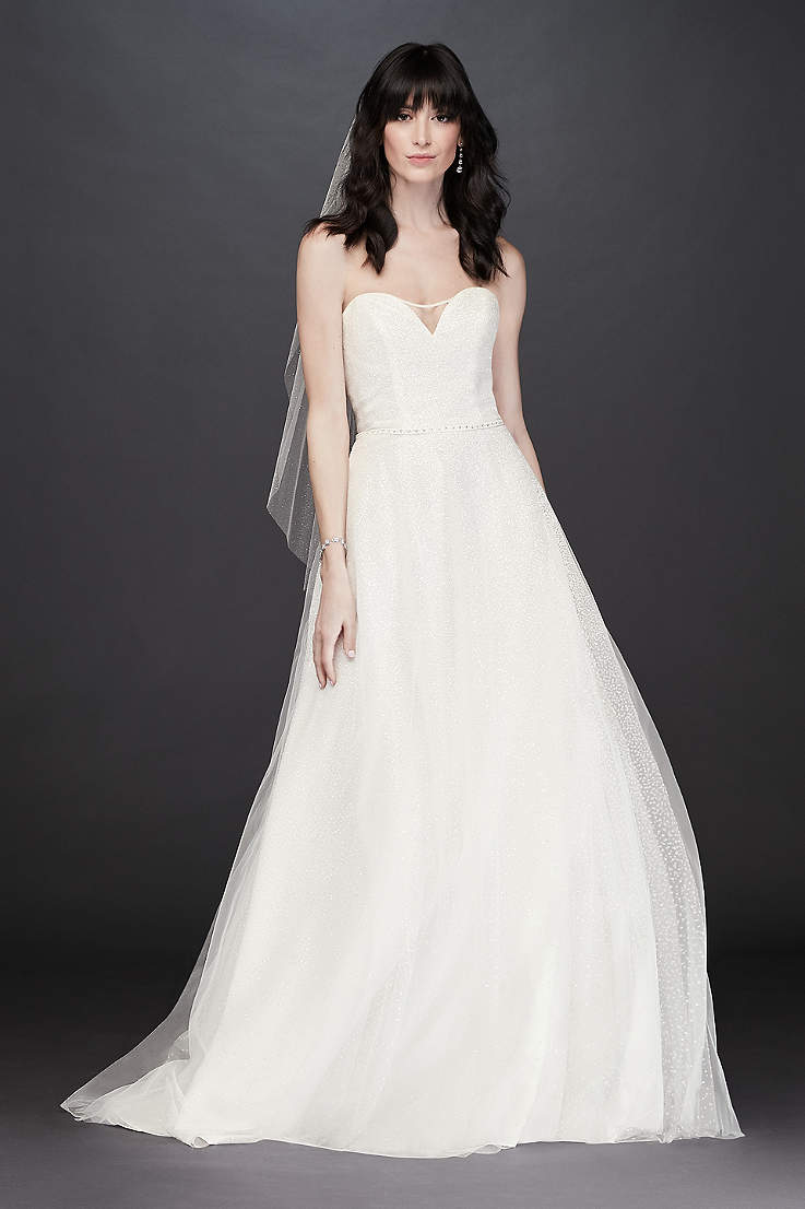 08e0e11241 Petite Wedding Dresses & Gowns for Petite Women | David's Bridal