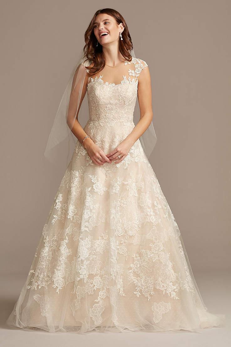 Cap Sleeve Wedding Dresses Bridal Gowns David S Bridal