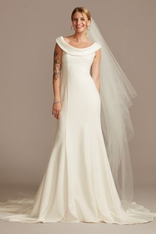 Long Mermaid/Trumpet Wedding Dress - David's Bridal