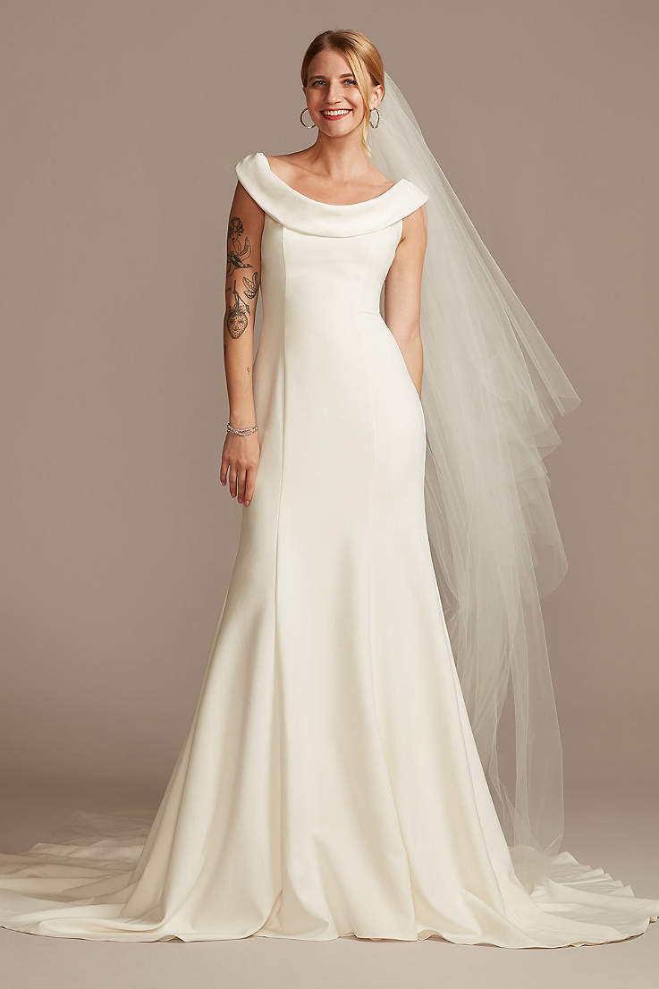 Petite Wedding Dresses Gowns For Petite Women David S Bridal