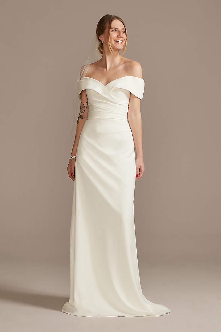 Petite Wedding Dresses & Gowns for Petite Women   David's Bridal