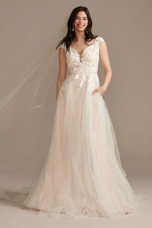 Long Ballgown Wedding Dress - DB Studio