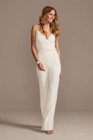 Long Jumpsuit Spaghetti Strap Dress - DB Studio