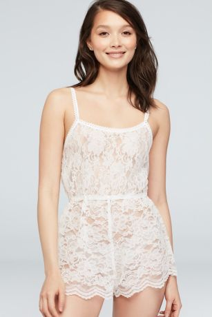 Windsor Lace Honeymoon Romper