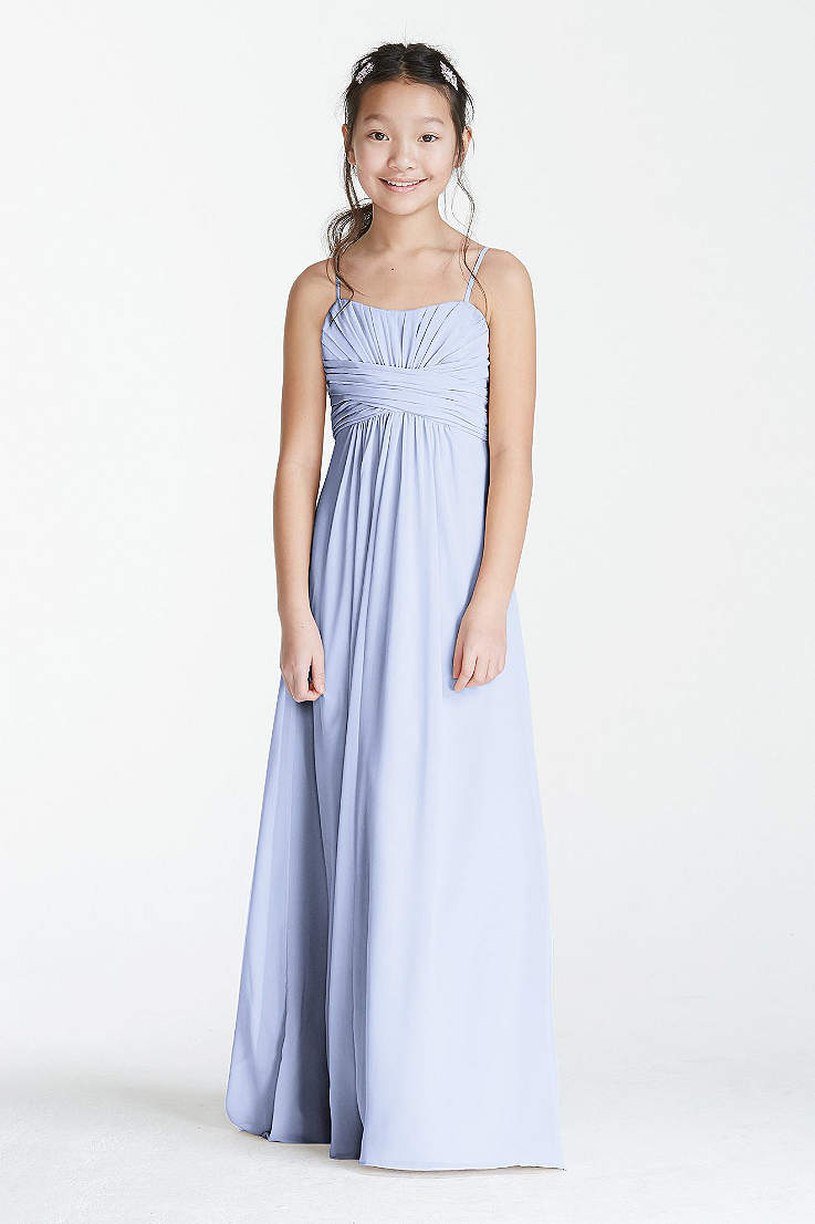 5515f51441d Soft   Flowy David s Bridal Long Bridesmaid Dress