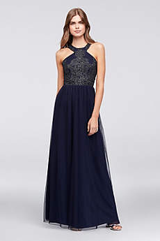 Long A-Line Halter Formal Dresses Dress - Speechless