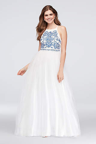 Tulle Prom Dresses & Gowns | David\'s Bridal