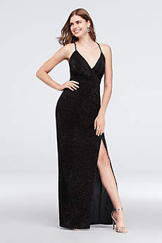 Long Sheath Spaghetti Strap Formal Dresses Dress - Speechless