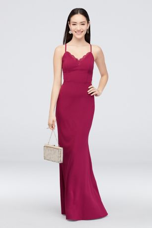 Long Sheath Spaghetti Strap Dress - Speechless
