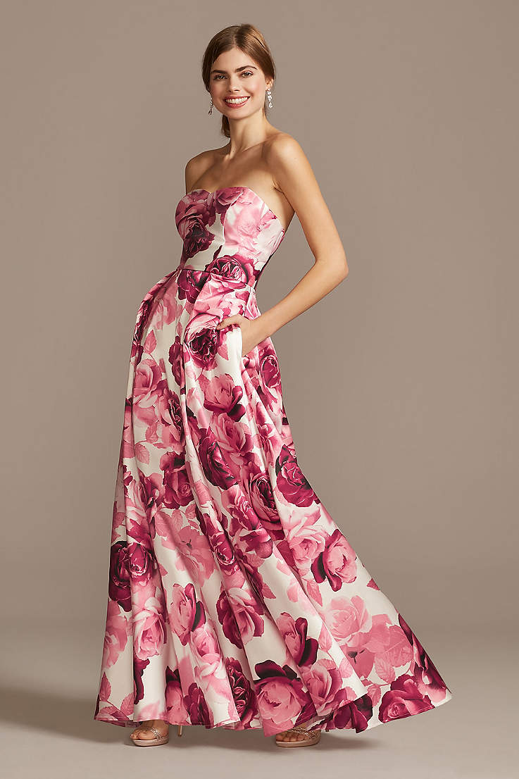 Long Prom Dresses Gowns For 2020 David S Bridal,Cost Of Wedding Dress Preservation