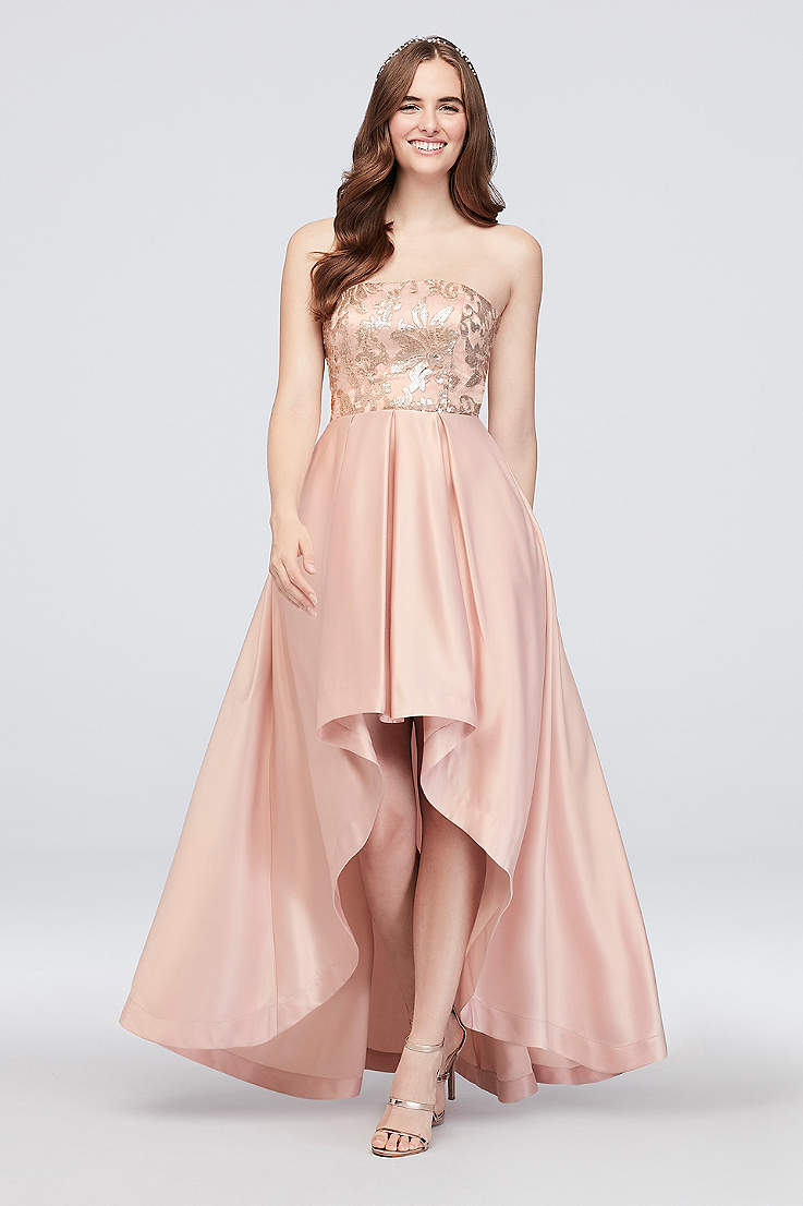 Strapless Party Dress