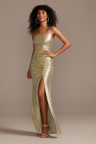 Long Spaghetti Strap Dress - Speechless