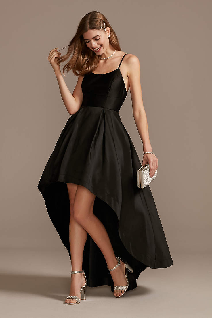 Little Black Dresses Short Black Formal Looks David S Bridal