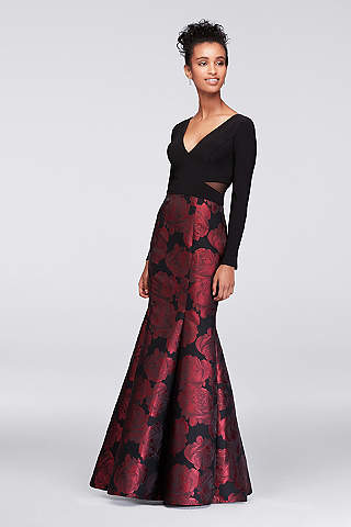Printed Dresses: Floral Maxi, Patterned & More | David\'s Bridal