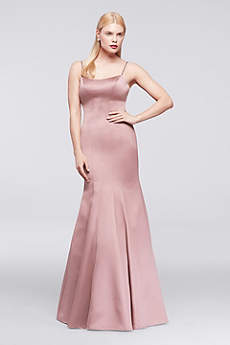 Structured Truly Zac Posen Long Bridesmaid Dress