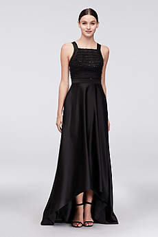 High Low Ballgown Halter Formal Dresses Dress - Truly Zac Posen