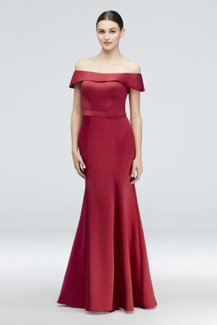 Long Mermaid/ Trumpet Off the Shoulder Dress - Truly Zac Posen