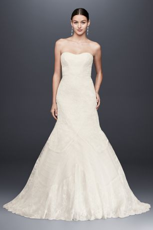 9146d28738 Long Mermaid  Trumpet Wedding Dress - Truly Zac Posen