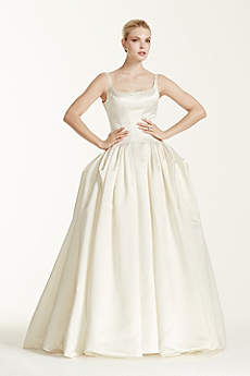 Long Ballgown Modern Wedding Dress - Truly Zac Posen