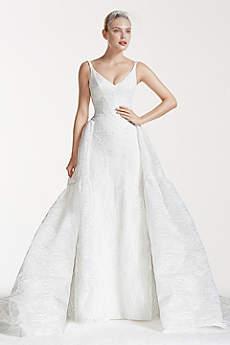 Truly Zac Posen Tank Bonded Lace Wedding Dress