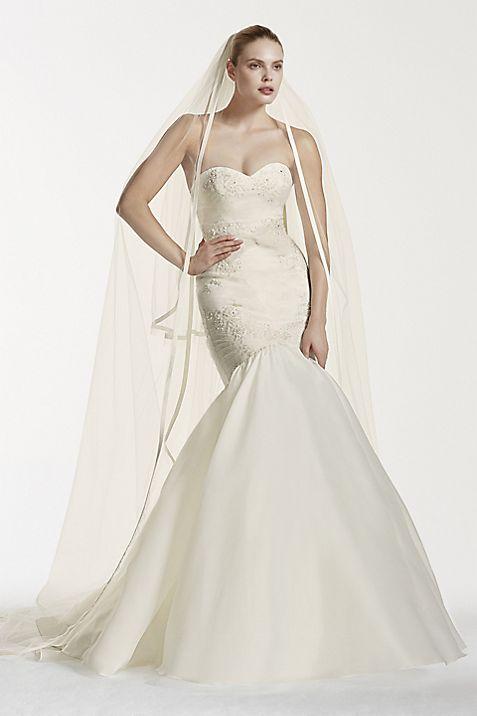 Truly Zac Posen Mermaid Wedding Dress with Lace | David\'s Bridal